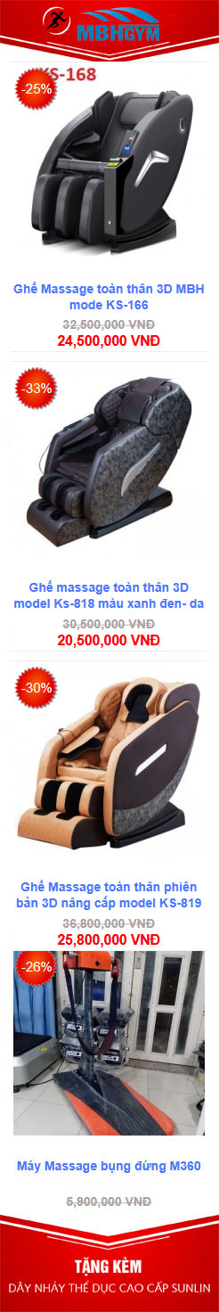 Ghế massage mbh